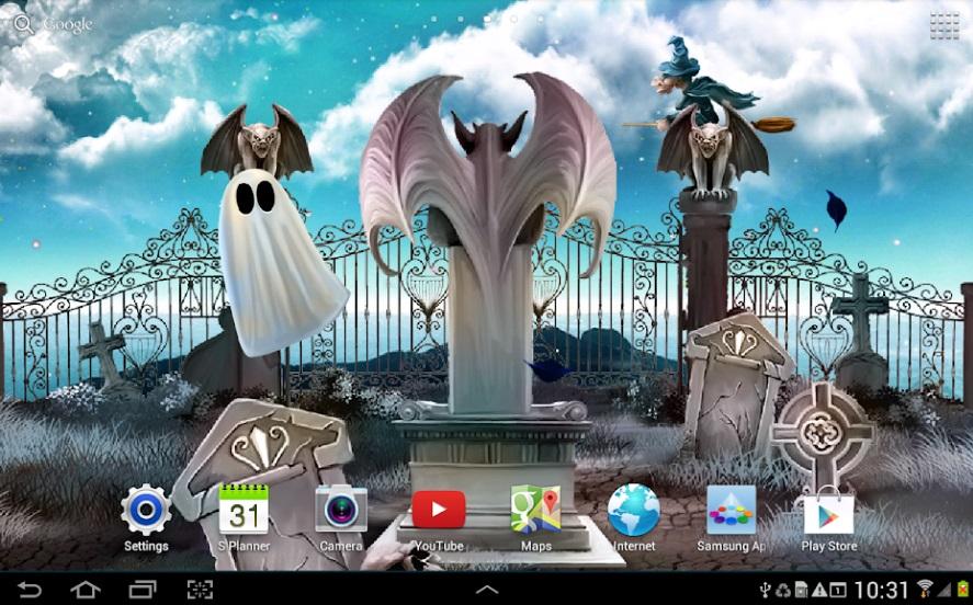 Хэллоуин: Живые Обои на Андроид