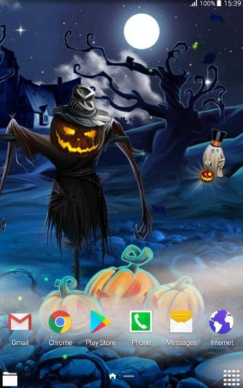 Таинственный Хэллоуин - Живые Обои на ПК