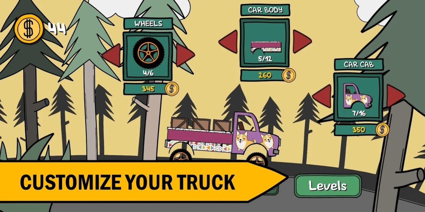 Hill Climb Trucker! на Андроид