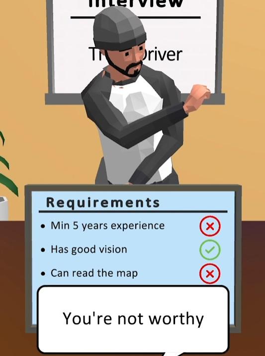 Hiring Job 3D на Андроид