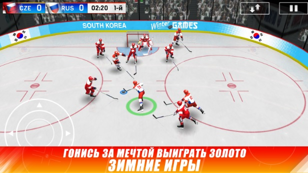 Hockey Nations 18 на Андроид