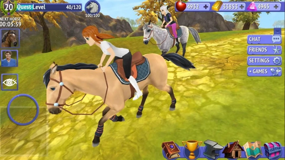 Horse Riding Tales - Ride With Friends на Андроид