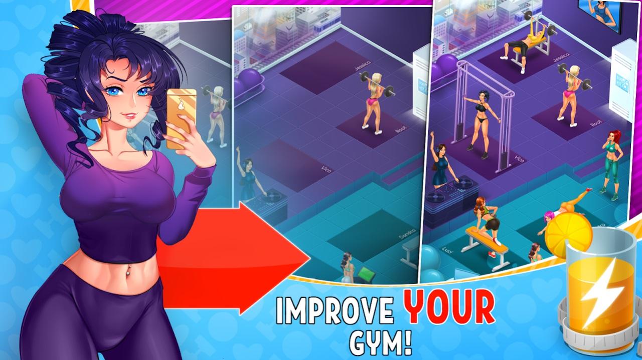 Hot Gym на Андроид