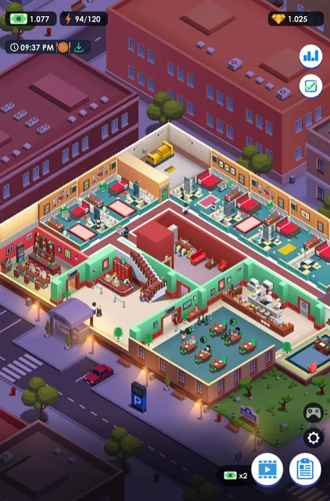 Hotel Empire Tycoon - Idle Game Manager Simulator на Андроид