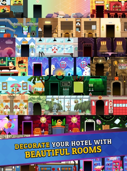 Hotel Mania на Андроид