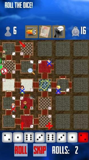 House Arrest: Detective Board Game на Андроид