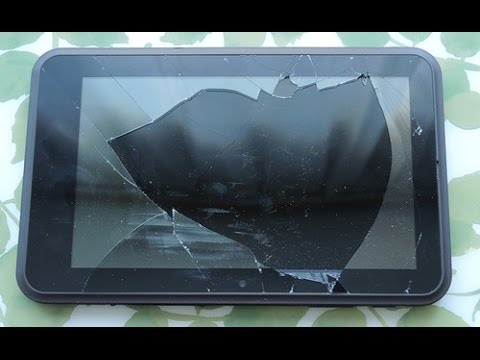 Что можно сделать из разбитого планшета?