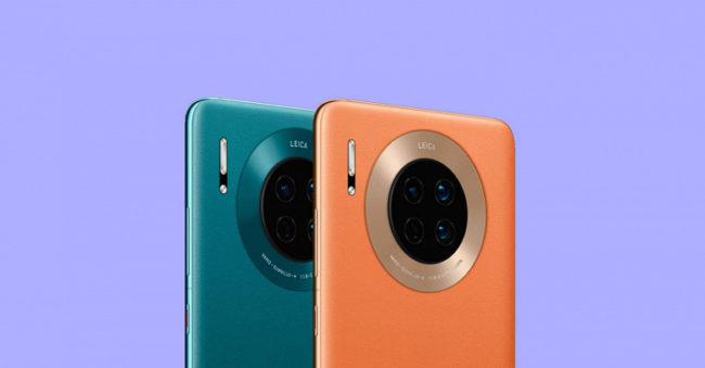 основаная камера Huawei Mate 30