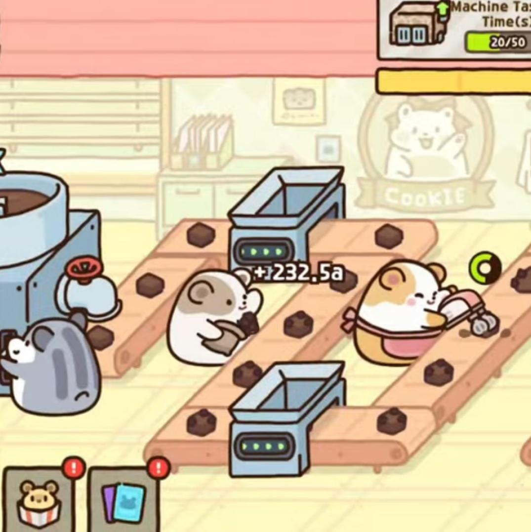 Hamster Cookie Tycoon на Андроид