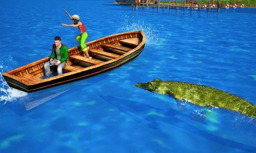 Hungry Crocodile на Андроид
