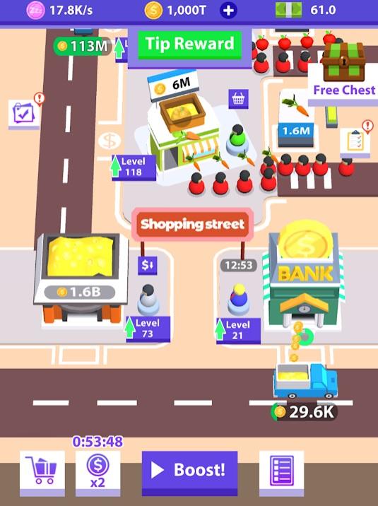 Idle Bazaar на Андроид