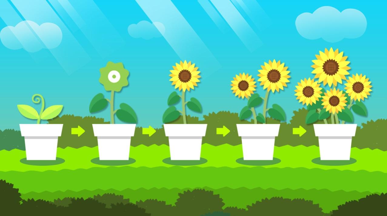 Idle Flower Tycoon на Андроид