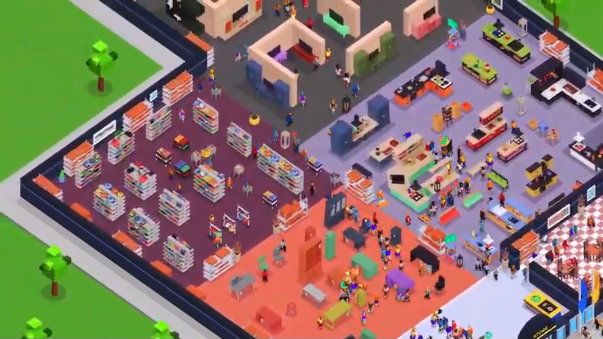 Idle Furniture Store Tycoon на Андроид