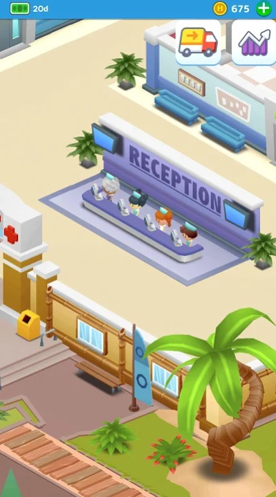 Idle Frenzied Hospital Tycoon на Андроид