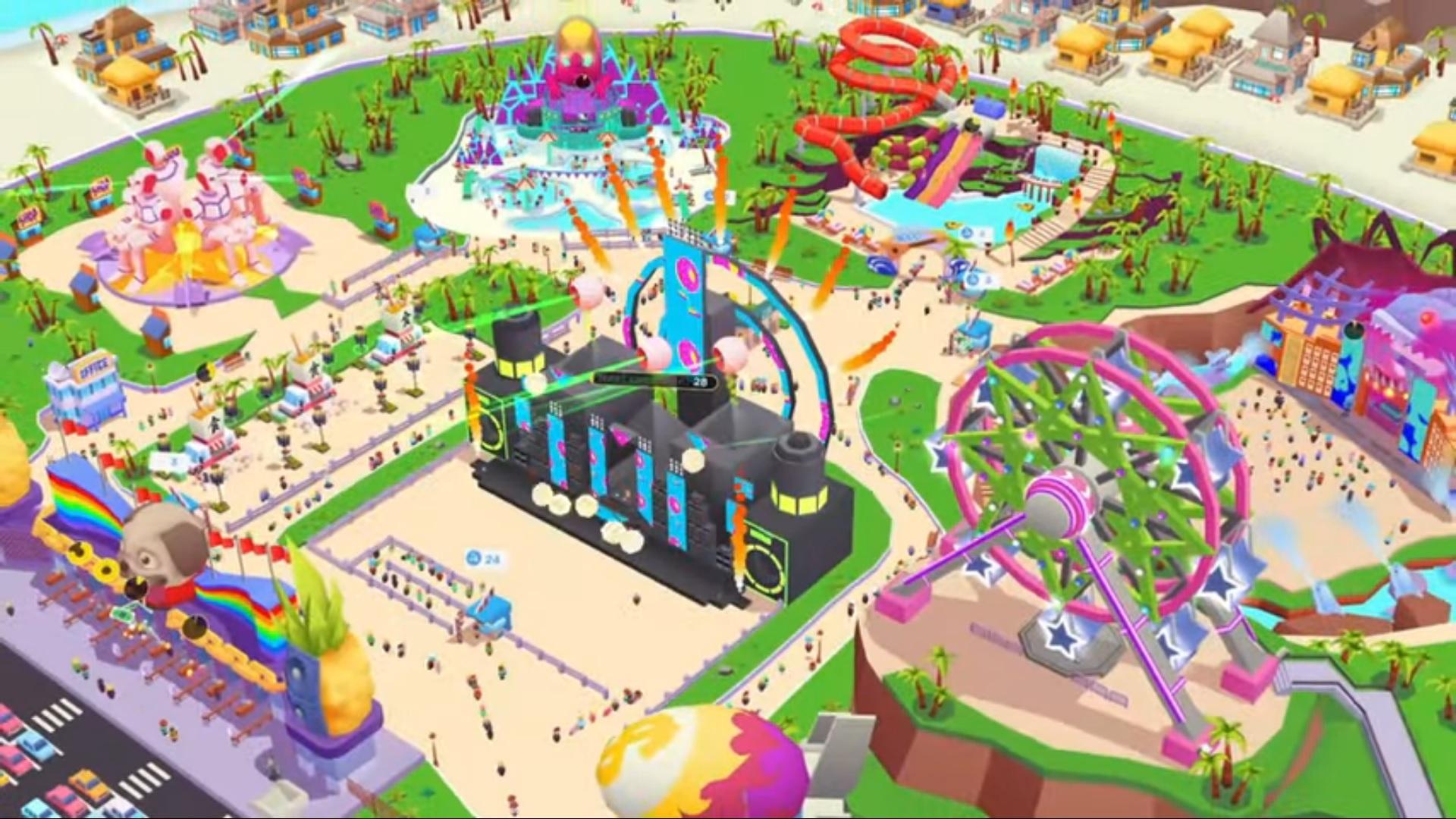 Idle Music Festival Tycoon на Андроид