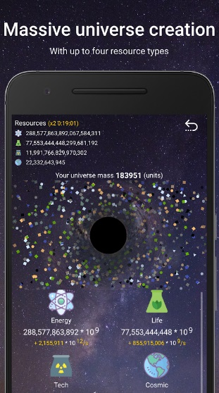 Idle World на Андроид