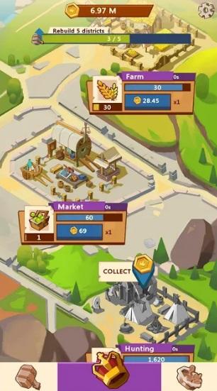 Kingdomtopia: Idle Animal Tycoon на Андроид