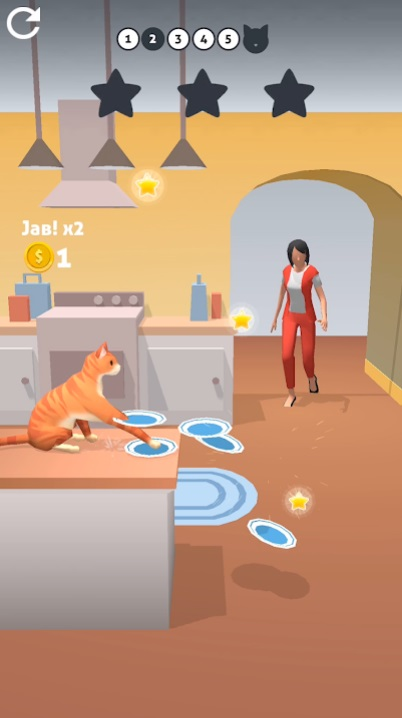 Jabby Cat 3D на Андроид