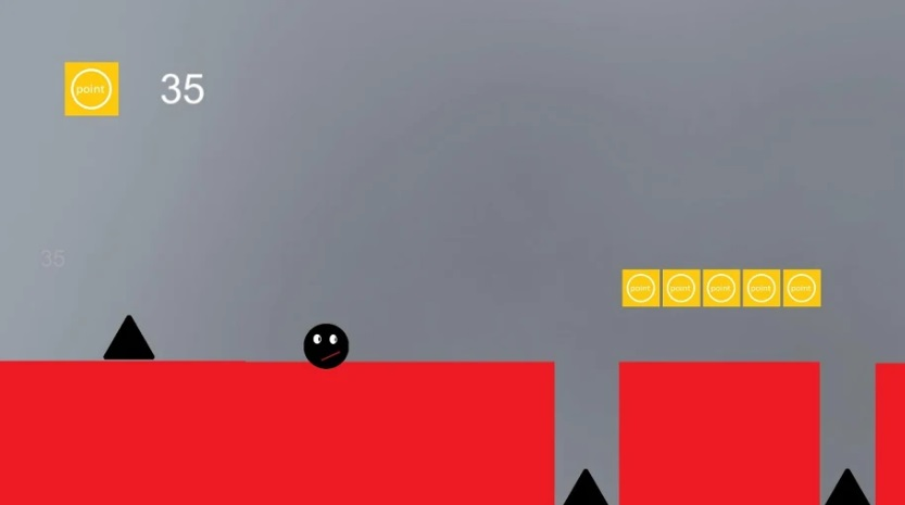 Jump Red World на Андроид