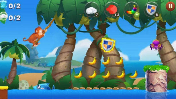 Jungle Monkey Run 2 на Андроид