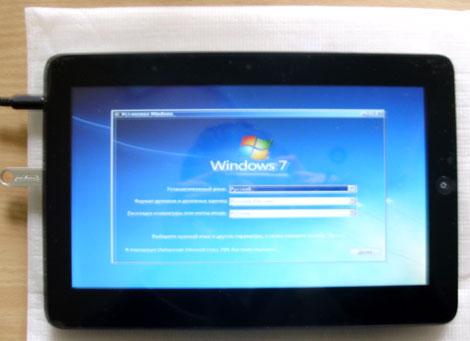 Как на планшет установить Windows 7, 8 и XP, 98, 95