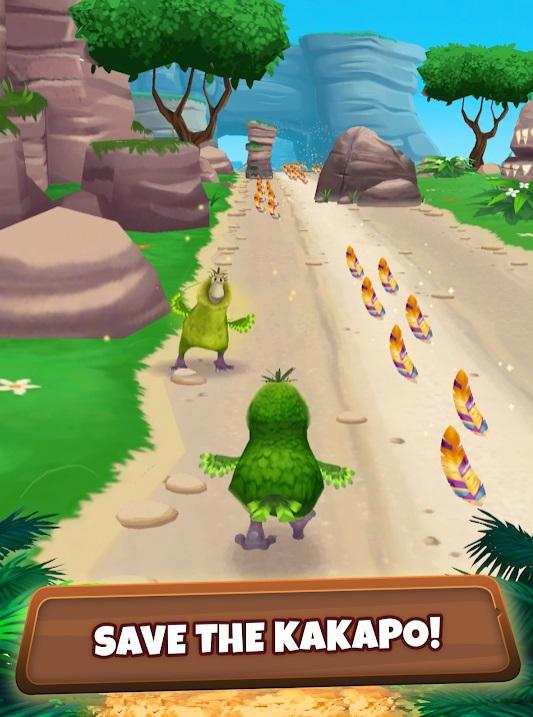 Kakapo Run на Андроид