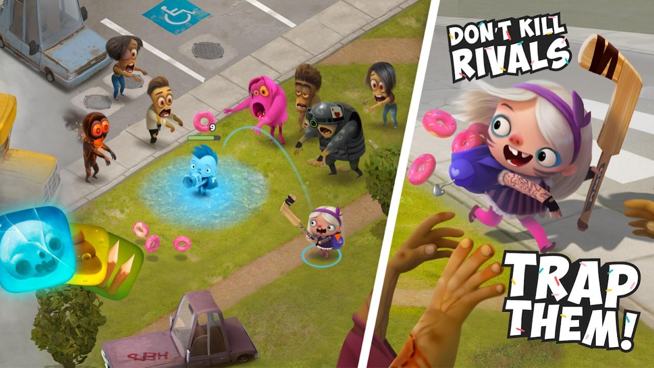 Kids VS Zombies на Андроид