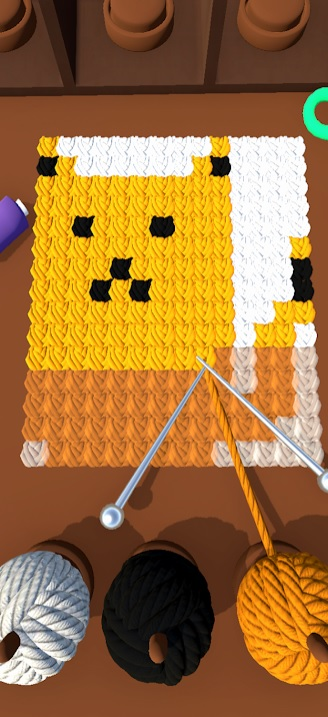 Knitting Shop 3D на Андроид