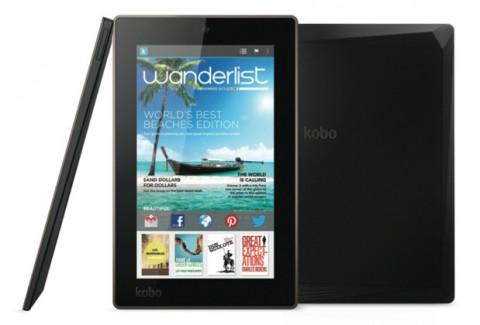 Новые планшеты Kobo для чтения