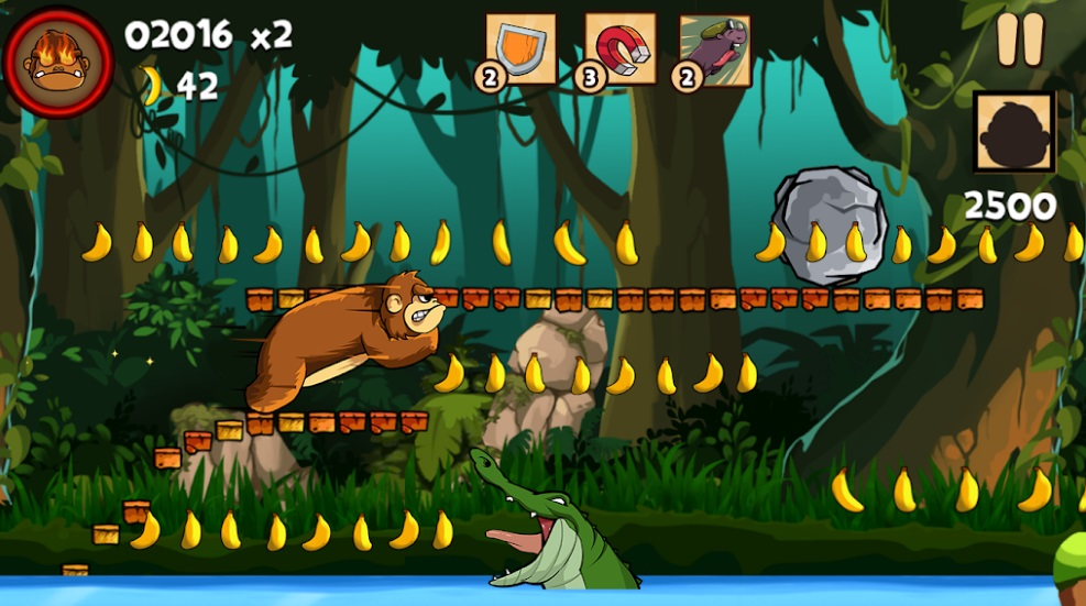 Kong Rush: Banana Run на ПК