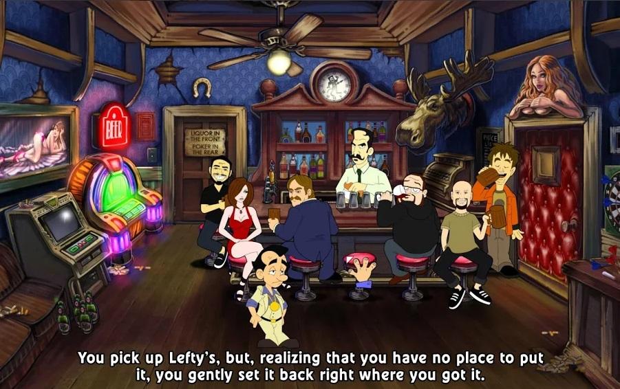 Leisure Suit Larry: Reloaded на Андроид