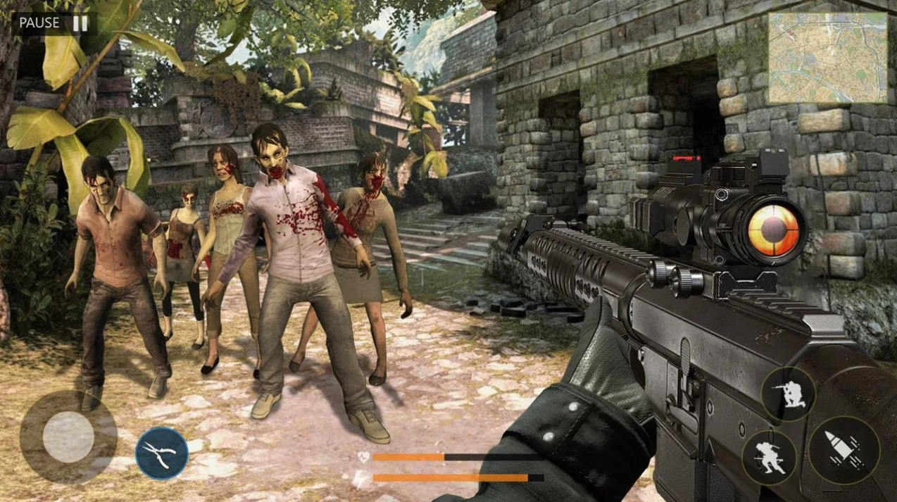 Last of Zombie: Real Survival Shooter 3D на Андроид