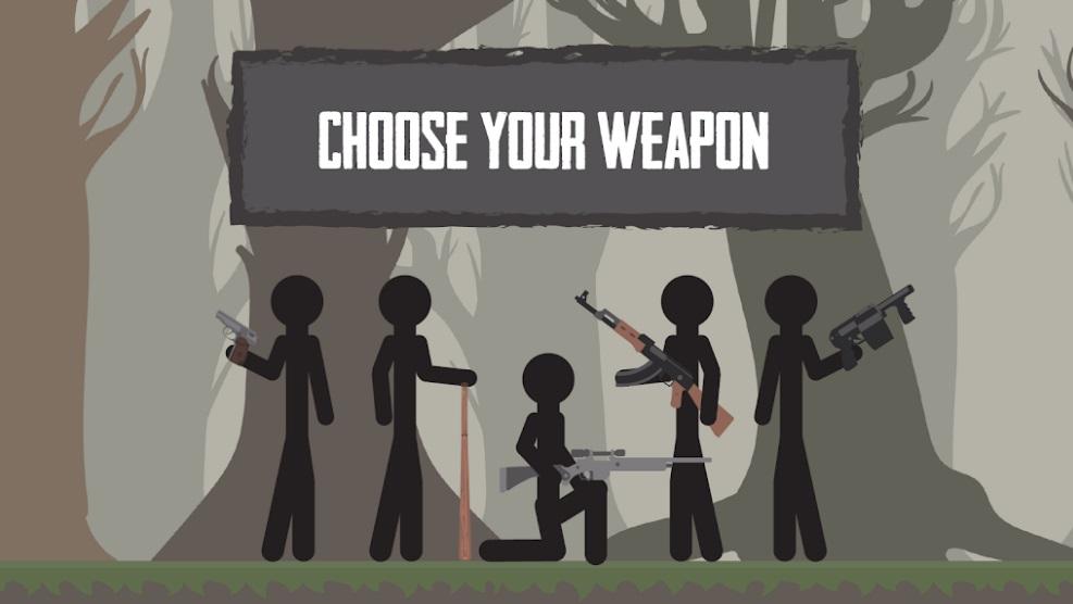 Last Stickman: Battle Royale на Андроид