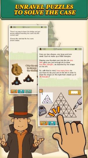 Layton: Curious Village in HD на Андроид