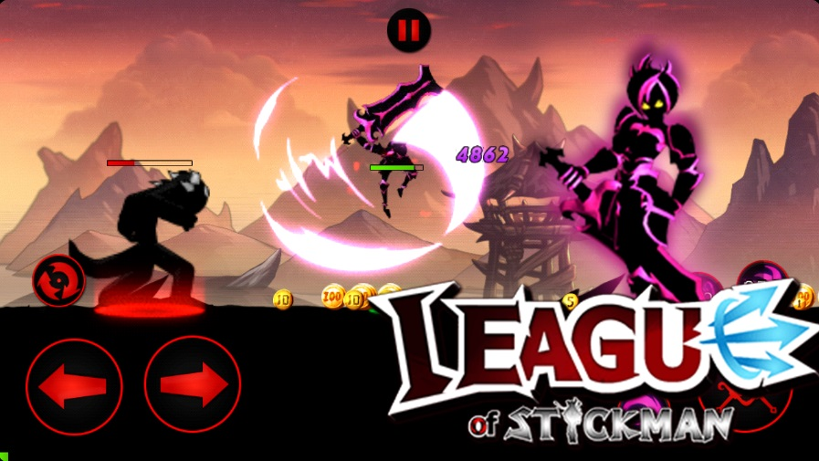 League of Stickman на Андроид