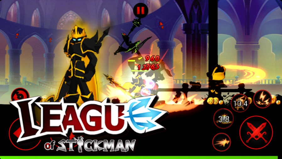 League of Stickman на ПК