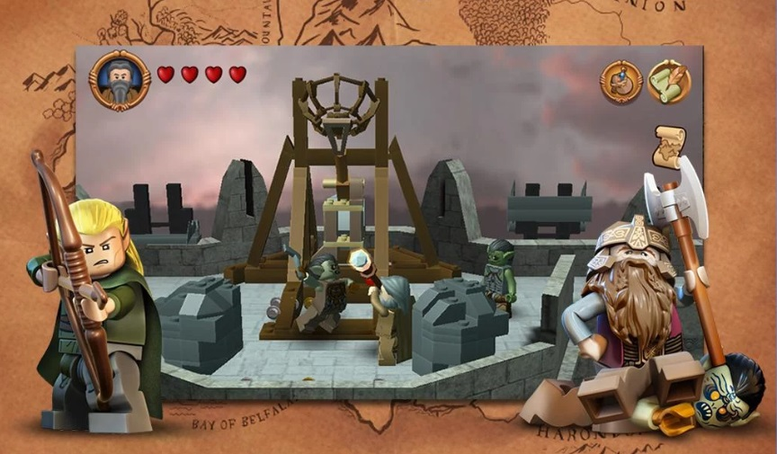 LEGO: The Lord of the Rings на Андроид