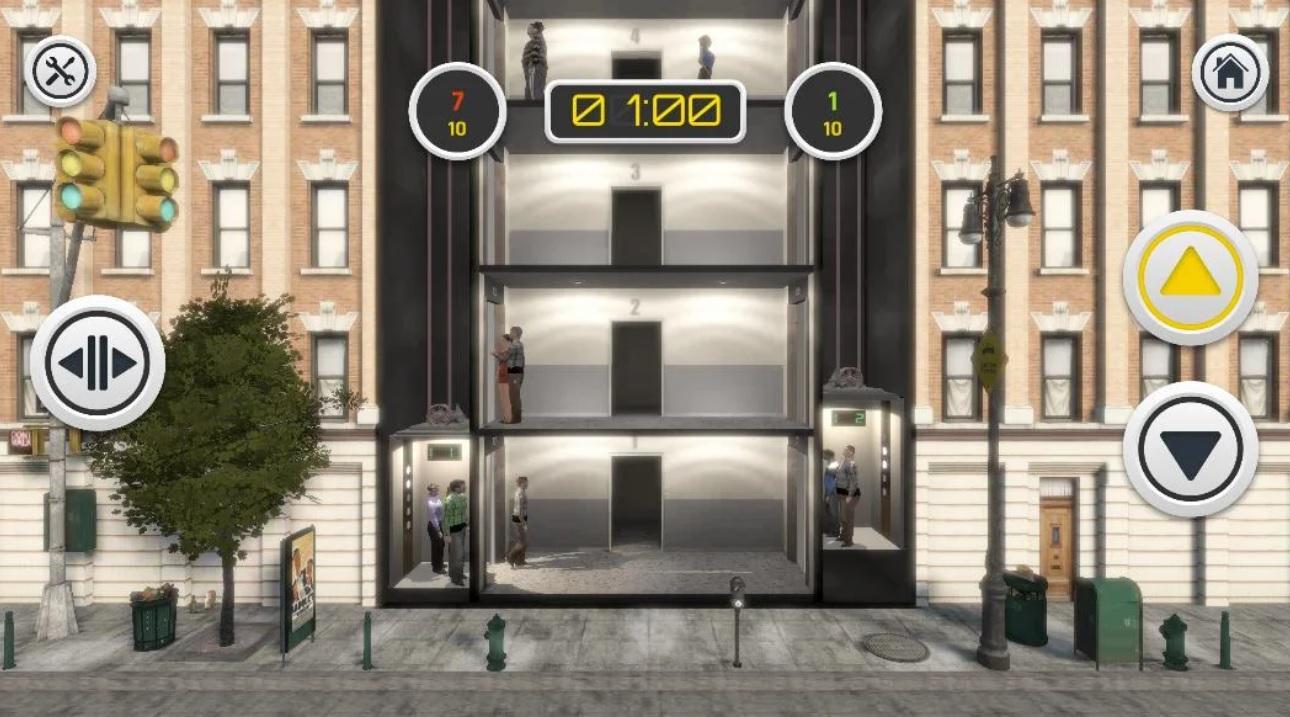 Сумасшедший Лифтёр 3D: Городская битва на Андроид