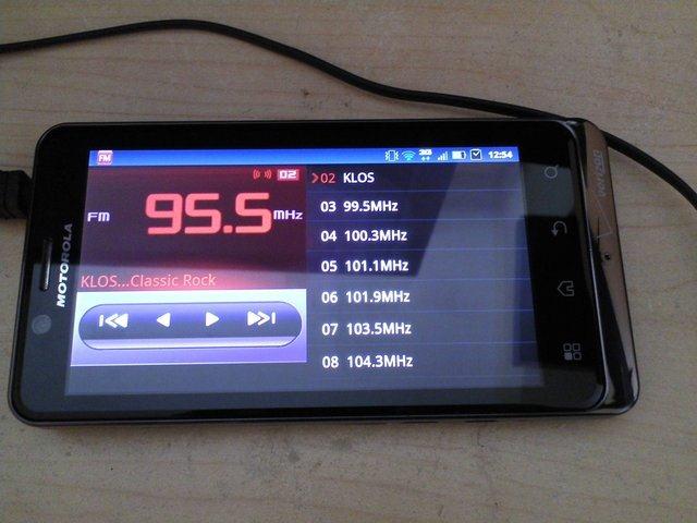 радио в планшете