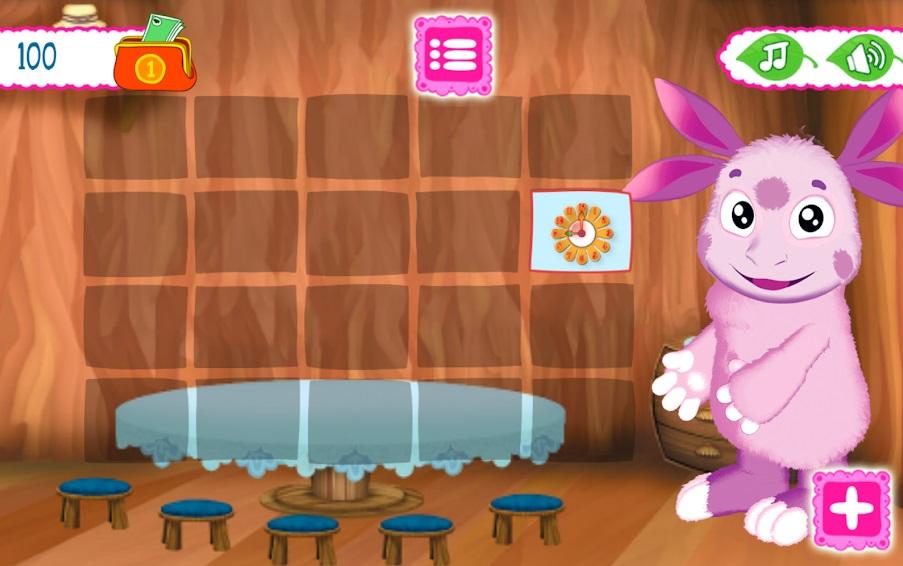 Лунтик: Детские игры на Андроид