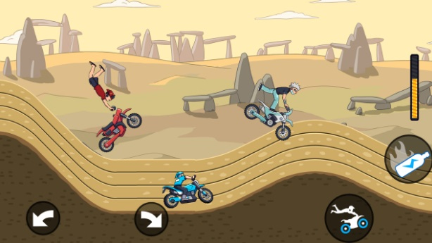Mad Moto - Motocross racing на Андроид