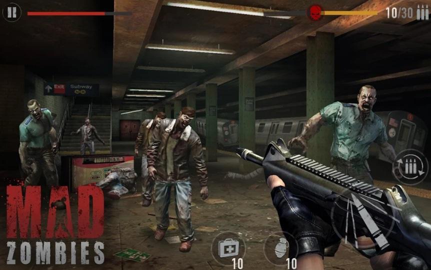 Зомби: Mad Zombies на Андроид