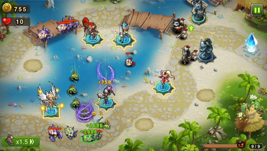 Magic Rush: Heroes на Андроид