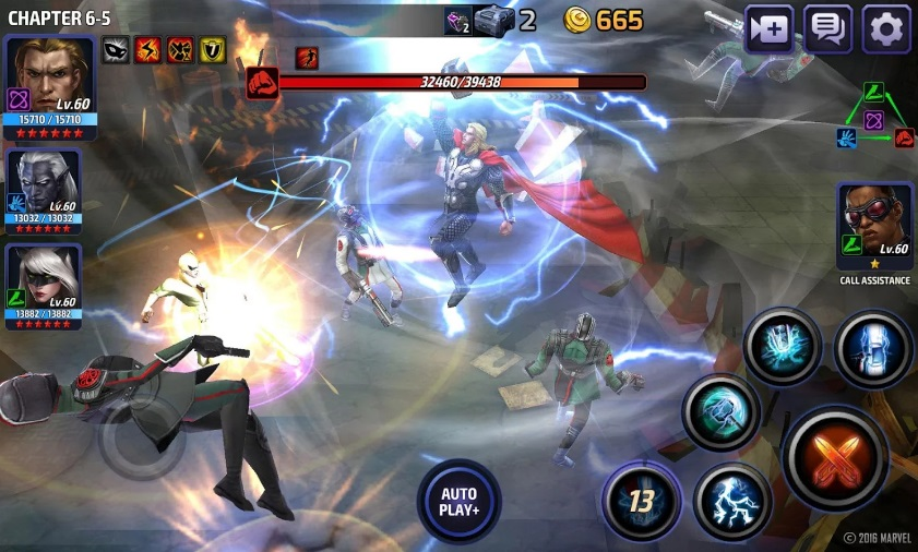 Marvel: future fight на ПК