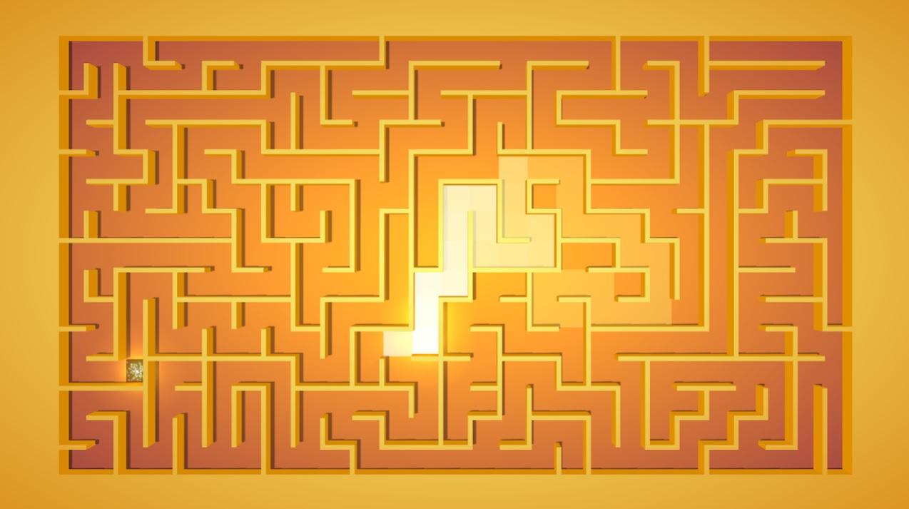Maze: Path of light на Андроид