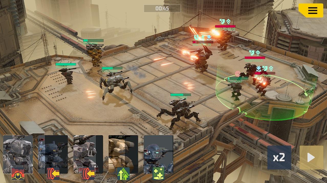 Mech Warfare Arena на Андроид