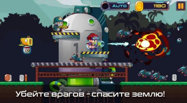 Metal Shooter: Run and Gun на Андроид