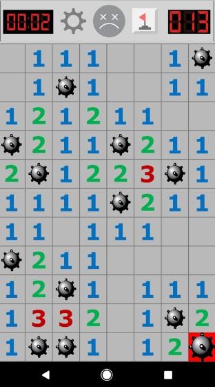 Minesweeper Pro на Андроид