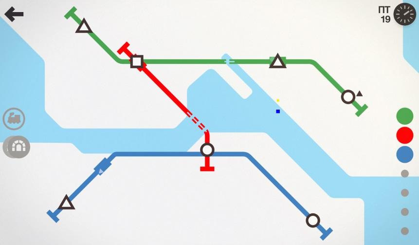 Mini Metro на ПК