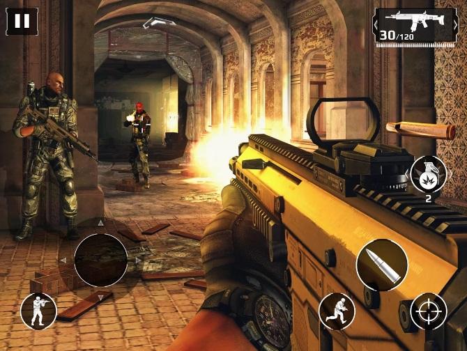 Modern Combat 5: Затмение на Андроид